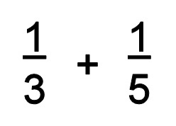 Adding Fractions With Diffe Denominators