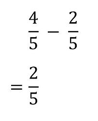 Subtracting a Fraction From a Mixed Number
